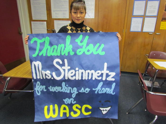 THANK YOU WASC COORDINATOR!